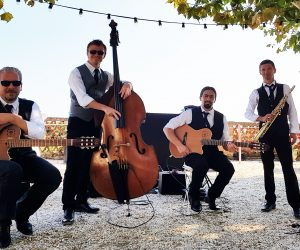 Gypsy Jazz Band quartet -2- 2018