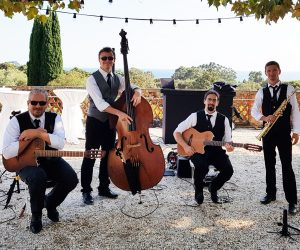 Gypsy Jazz Band quartet 2018